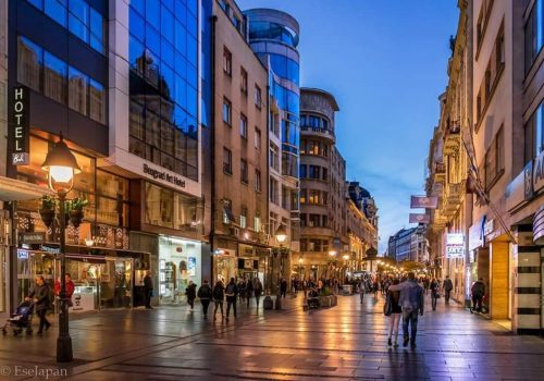 Hotel Belgrade art