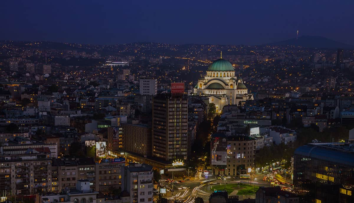 Beograd - glavni grad Srbije