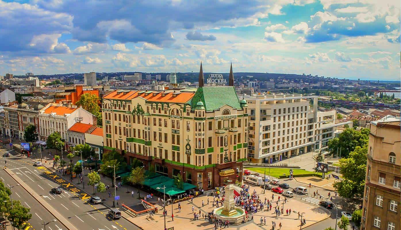 Hotel Moskva - Beograd