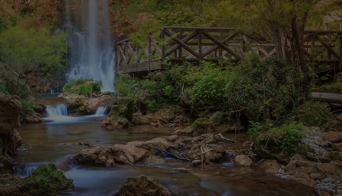 Vodopad - Lisine, istočna Srbija