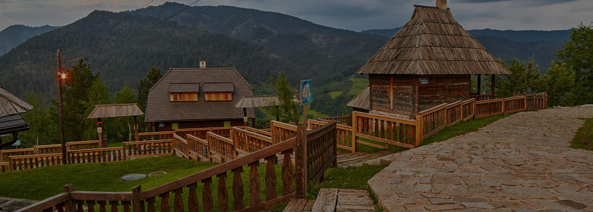 Mokra Gora - village in Serbia